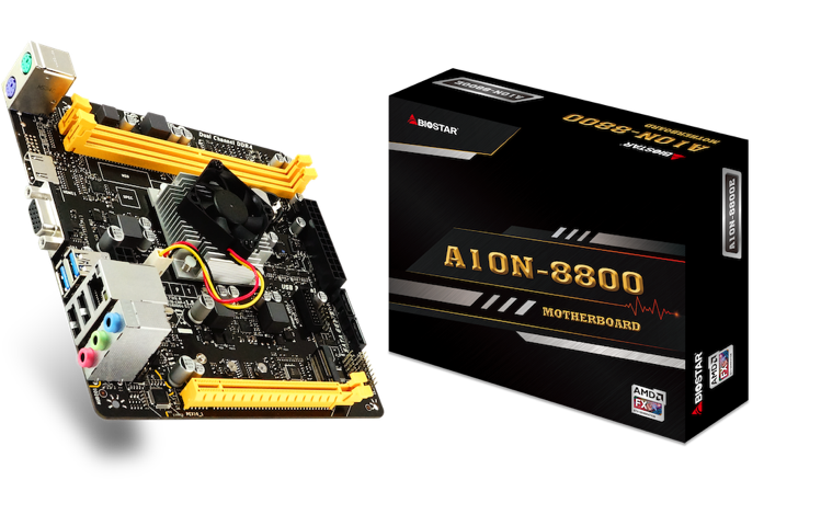 BIOSSTAR AMD A10N-8800E SoC Motherboard