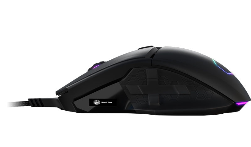 Cooler Master MM830 Gaming Mouse Released Cooler master mm830 mouse side view