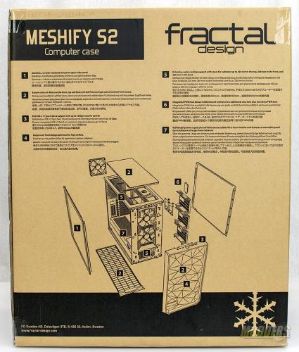 Fractal Design Meshify S2 Black Tempered Glass Edition ATX, eatx, Fractal, Meshify, Water Cooling 3