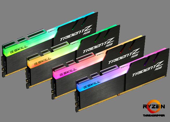 G.SKILL Announces Trident Z RGB DDR4-3466 32GB G.SKILL Trident Z RGB DDR4 3466 32GB
