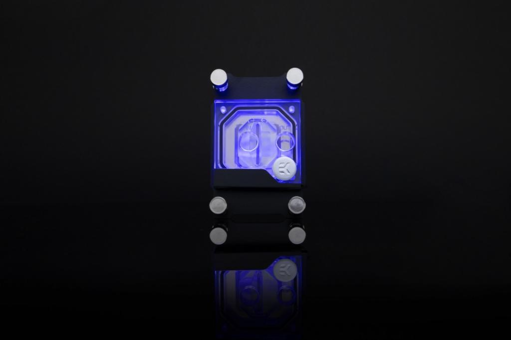 EKWB Classic Line of Water Cooling Products Waterblock LED