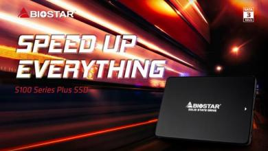 Photo of BIOSTAR Introduces The S100 Plus series SSDs