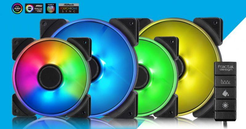 Fractal Design introduces Prisma fan series Fractal, pwm, rgb 2