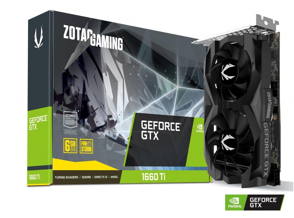 Announcing the ZOTAC GAMING GeForce GTX 1660 Ti series