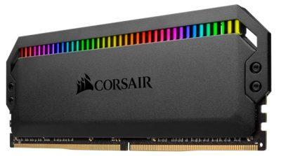 CORSAIR Launches DOMINATOR PLATINUM RGB DDR4 Memory Corsair, ddr4, led, rgb 1