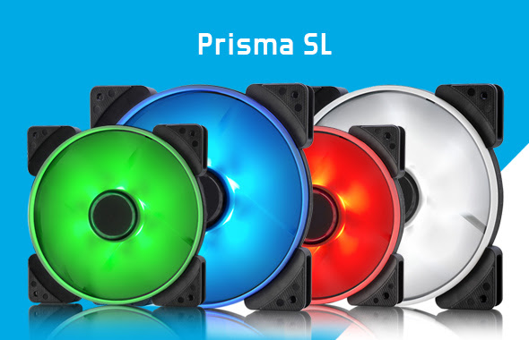 Fractal Design introduces Prisma fan series Fractal, pwm, rgb 4