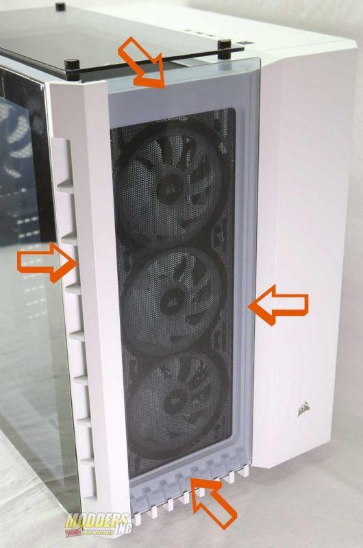 CORSAIR 680X RGB Tempered Glass PC Case Review ATX, Corsair, pc case 5
