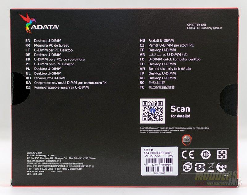 ADATA XPG SPECTRIX D41 3000MHz RGB Memory Review DSC 2584