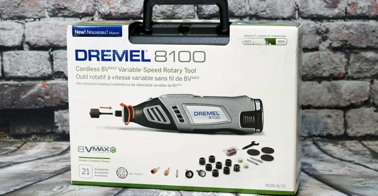 Photo of Dremel 8100 Cordless Rotary Tool Unboxing and Review