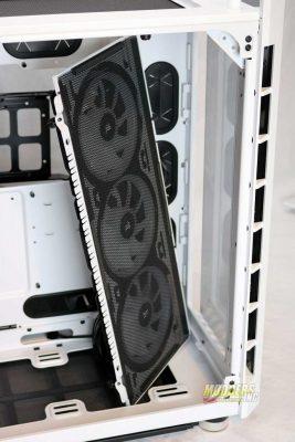 Corsair 680x remove front fans
