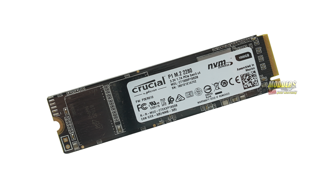 Crucial P1 NVMe M.2 SSD Review