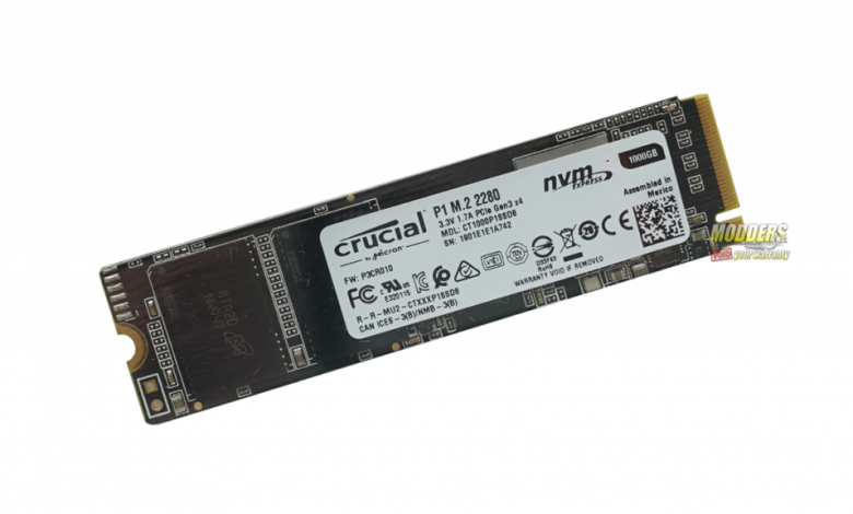 Photo of Crucial P1 NVMe M.2 SSD Review