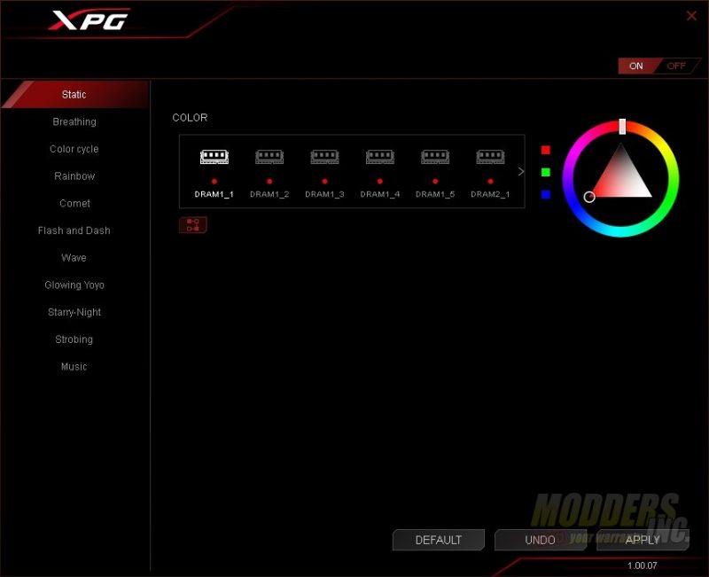 ADATA XPG SPECTRIX D41 3000MHz RGB Memory Review — Page 3 of