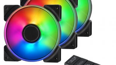 Fractal Design introduces Prisma fan series Fractal, pwm, rgb 3