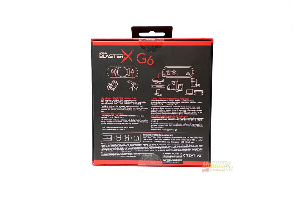 Sound BlasterX G6 External Sound Card Review — Page 2 of 6
