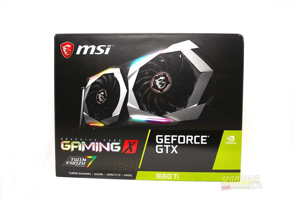 MSI Gaming X Geforce GTX 1660 TI Review — Page 2 of 10