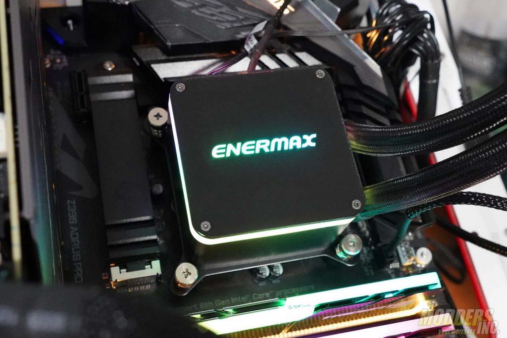 Enermax Liqtech II 360 Review 360 mm AIO coolers, AIO Coolers, All In One CPU Cooler, Enermax, Enermax AIO coolers, Enermax Liqtech II 360, Liqtech II 360, modders-inc 19