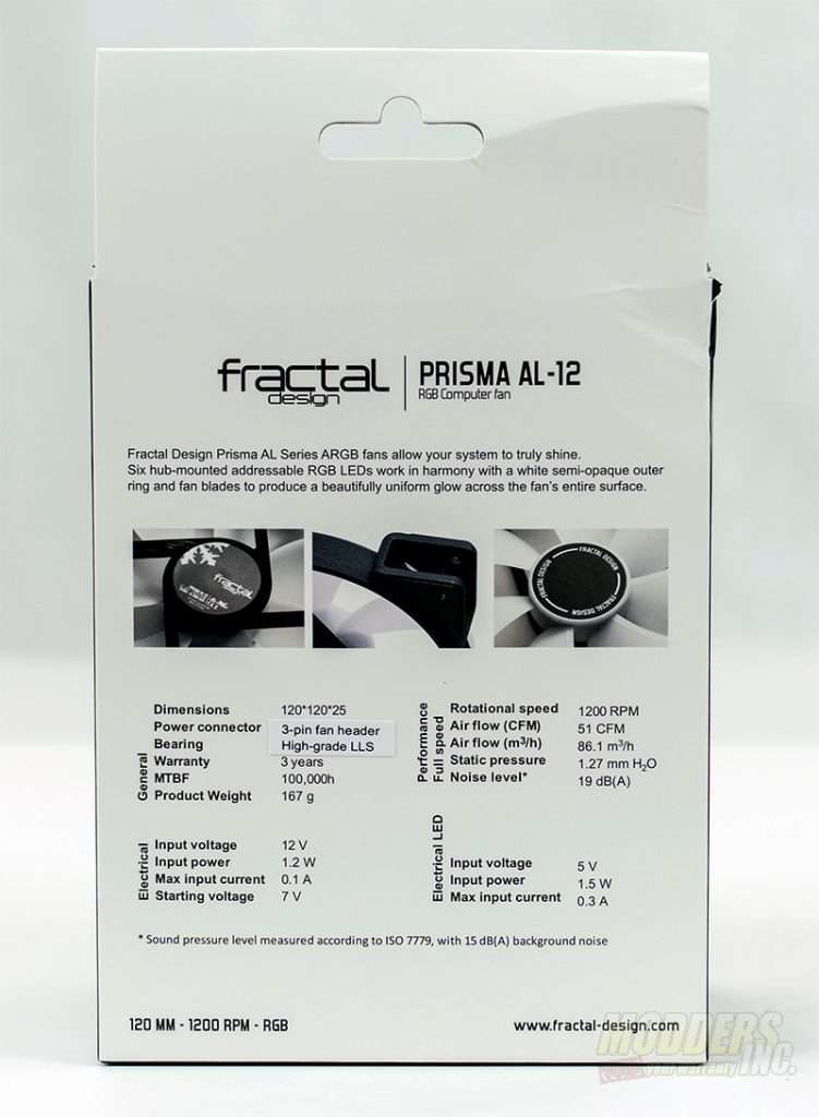 Fractal Design Prisma AL-12 RGB Fan Review DSC 2689