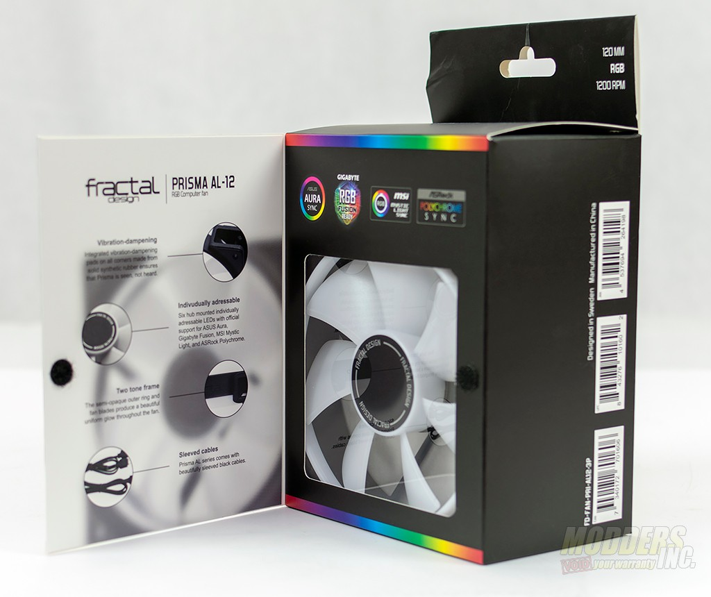 Fractal Design Prisma AL-12 RGB Fan Review DSC 2690