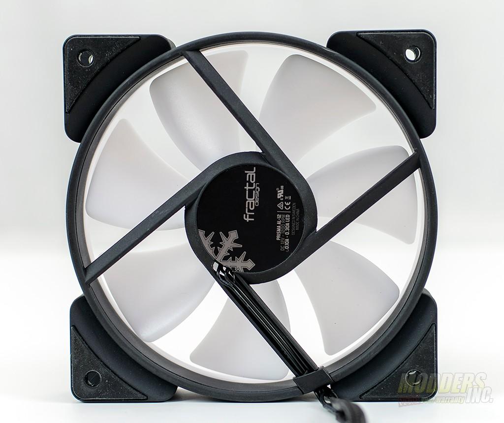 Fractal Design Prisma AL-12 RGB Fan Review aRGB fan, Case Fan, radiator, Water Cooling 3