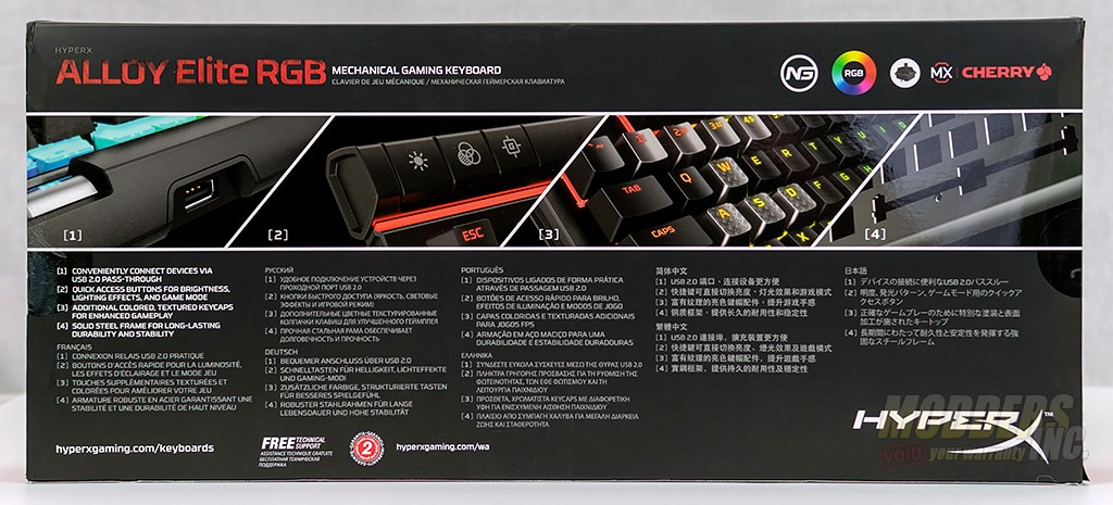 HyperX Alloy Elite RGB Mechanical Gaming Keyboard Review Blue, CherryMX, Gaming, HyperX, Mechanical Keyboard, rgb led, RGB Mechanical Keyboard 3
