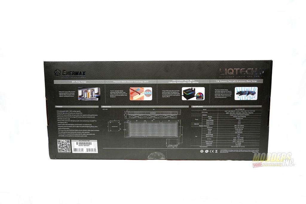 Enermax Liqtech II 360 Review 360 mm AIO coolers, AIO Coolers, All In One CPU Cooler, Enermax, Enermax AIO coolers, Enermax Liqtech II 360, Liqtech II 360, modders-inc 2