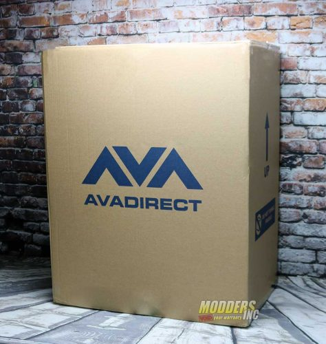 AVADirect Section 9 System Overview AVADirect, modded case 1