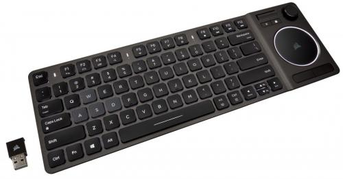 Lounge Wizard - Introducing the K83 Wireless Entertainment Keyboard from CORSAIR 2