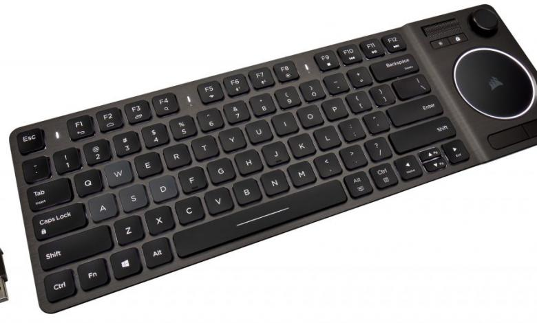 Photo of Lounge Wizard – Introducing the K83 Wireless Entertainment Keyboard from CORSAIR