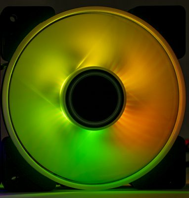 Fractal Design Prisma AL-12 RGB Fan Review fractal