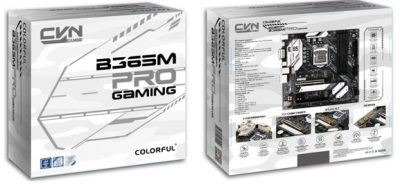 COLORFUL Officially Announces CVN B365M Gaming Pro V20 for Intel 8th / 9th Processors watermark mi new