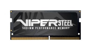 VIPER GAMING announces Viper Steel Series DDR4 SODIMM Performance Memory ddr4, gaming laptop, SODIMM 39