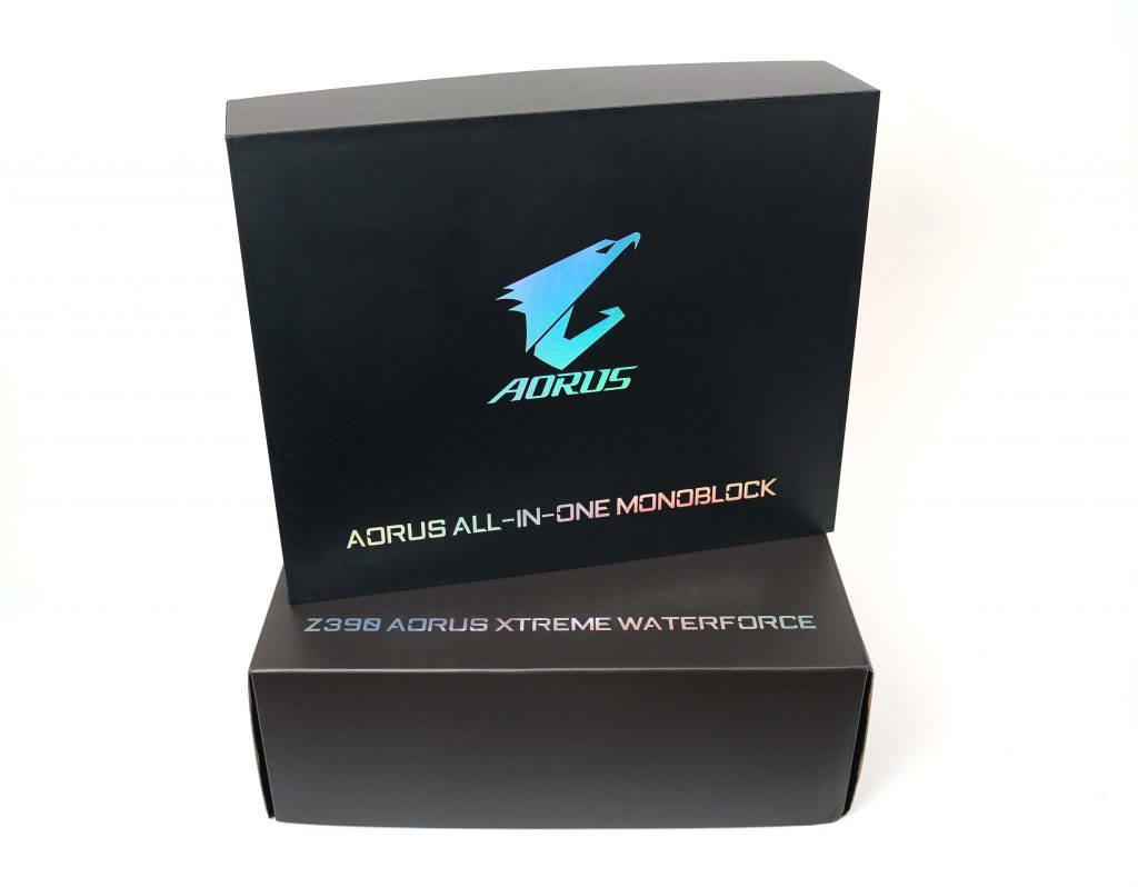 Aorus Xtreme Waterforce Motherboard Review DSC00225