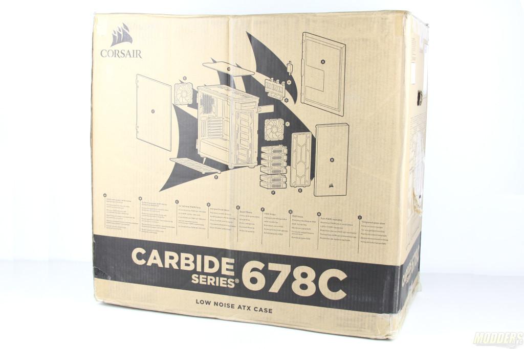 Corsair Carbide 678C Review: A Quiet Case with a Mission Carbide 678C, Corsair, Mid Tower Case, tempered glass 2
