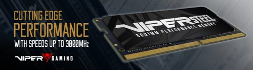 VIPER GAMING announces Viper Steel Series DDR4 SODIMM Performance Memory ddr4, gaming laptop, SODIMM