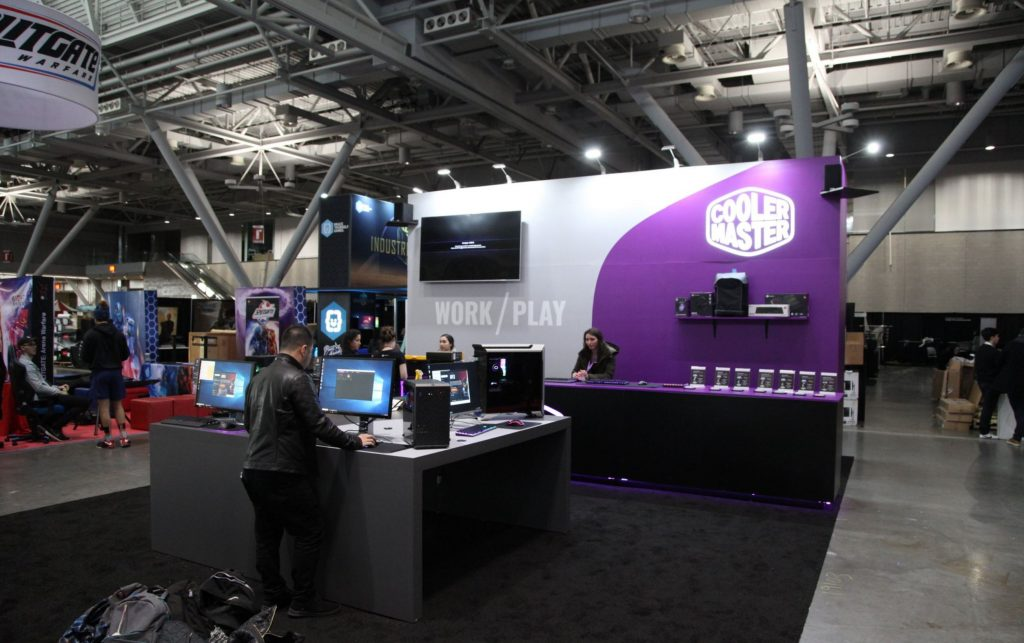 Cooler Master Shows off new products at Pax East 2019.