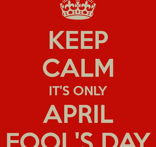 Photo of April Fools LOL