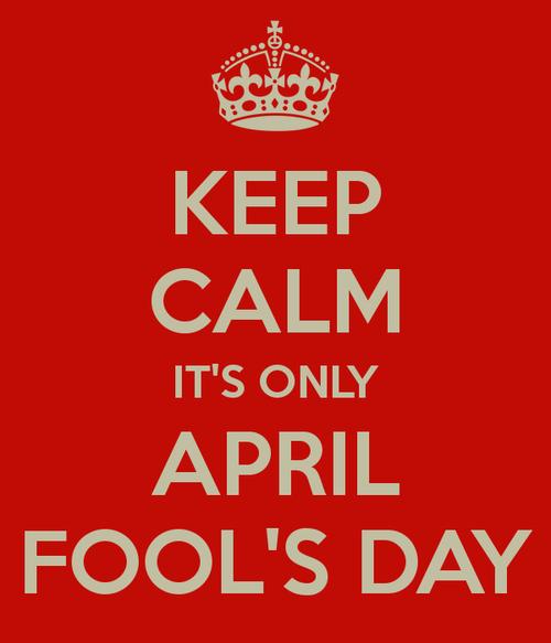 April Fools LOL