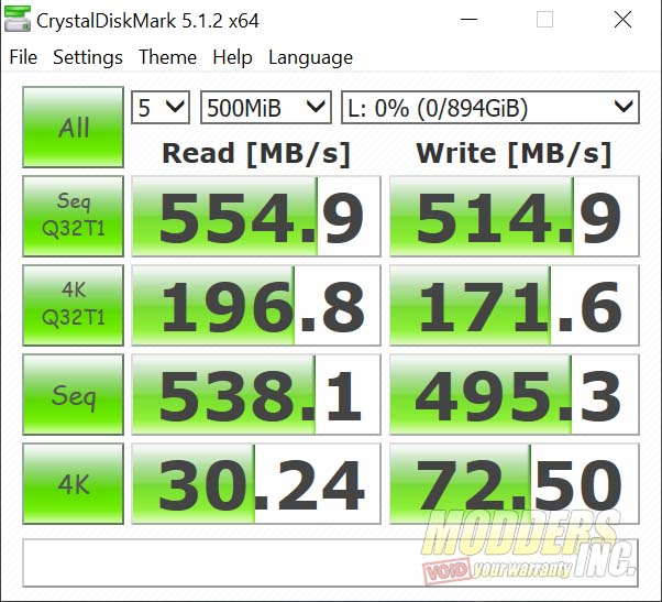 """Crucial BX500 960 GB SSD Review 2.5"""" SSD, 960 gb BX500, BX500 review, Crucial BX500, Modders-Inc SSD Review, SSD Review 17"""