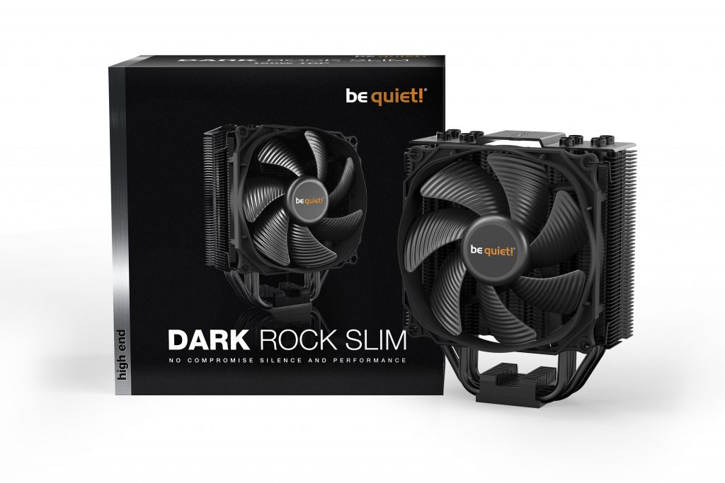 be quiet! announces the release of the Dark Rock Slim CPU Cooler!