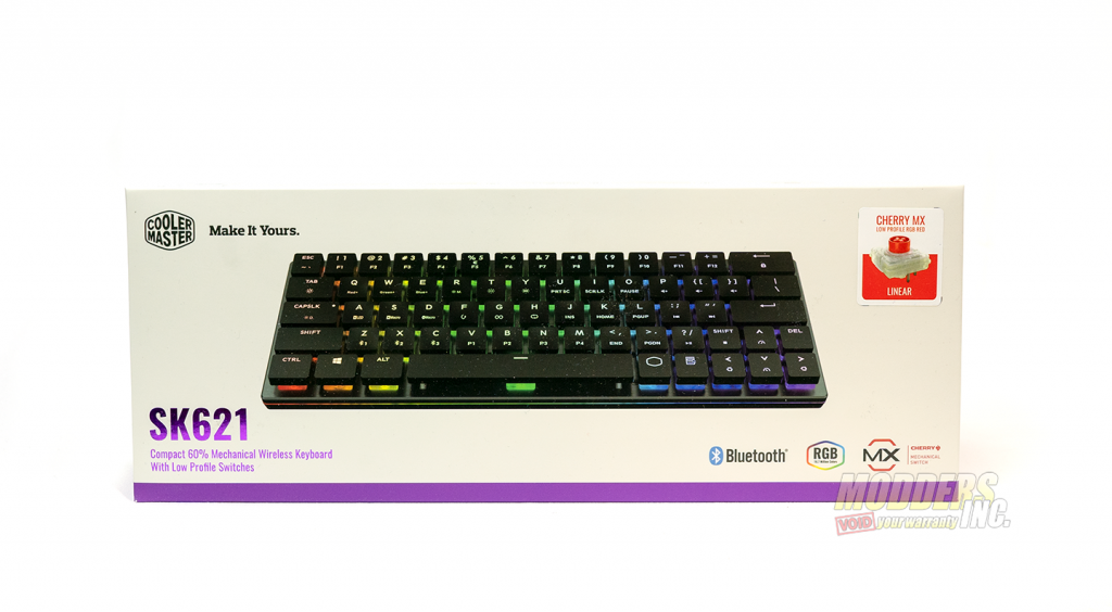 The Cooler Master SK621 Wireless Keyboard Review Bluetooth Keyboard, Cherry MX Low Profile, Cooler Master, Cooler Master SK621, Keyboard Reviews, Modder-Inc. Keyboard Reviews, RGB Wireless Keyboard, SK621, Wireless keyboard 1