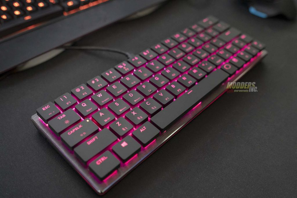 The Cooler Master SK621 Wireless Keyboard Review Bluetooth Keyboard, Cherry MX Low Profile, Cooler Master, Cooler Master SK621, Keyboard Reviews, Modder-Inc. Keyboard Reviews, RGB Wireless Keyboard, SK621, Wireless keyboard 15