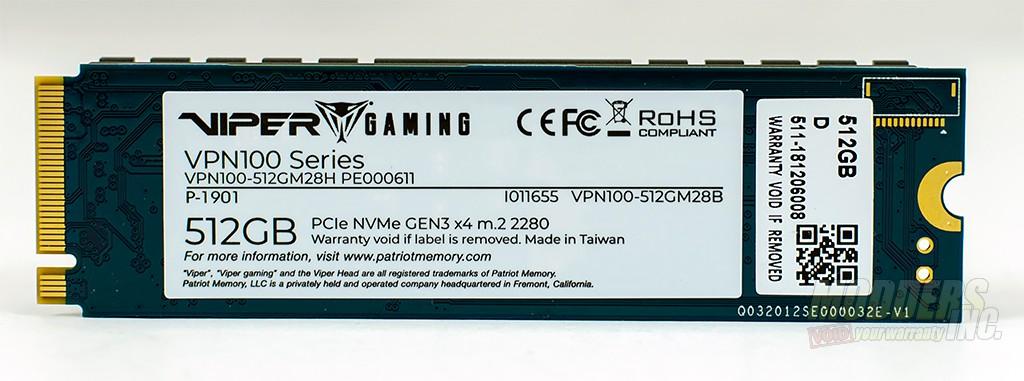 Patriot Viper VPN100 PCIe M.2 SSD Review nvme, Patriot, PCIE, phison, SSD, Toshiba 3