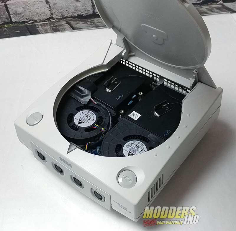 Dreamcast case mod