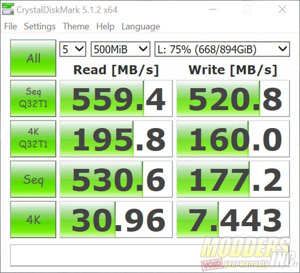 """Crucial BX500 960 GB SSD Review 2.5"""" SSD, 960 gb BX500, BX500 review, Crucial BX500, Modders-Inc SSD Review, SSD Review 18"""