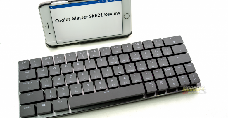 Photo of The Cooler Master SK621 Wireless Keyboard Review