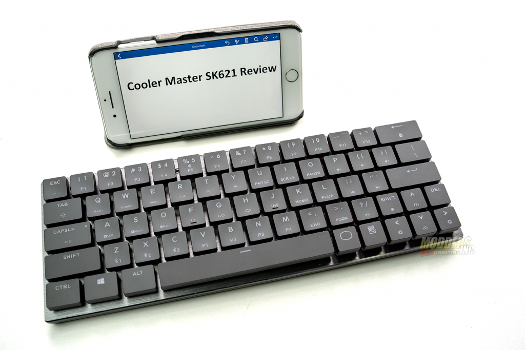 The Cooler Master SK621 Wireless Keyboard Review