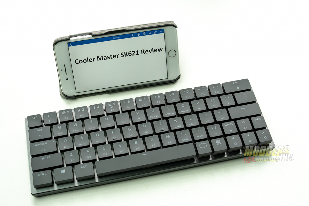 The Cooler Master SK621 Wireless Keyboard Review Bluetooth Keyboard, Cherry MX Low Profile, Cooler Master, Cooler Master SK621, Keyboard Reviews, Modder-Inc. Keyboard Reviews, RGB Wireless Keyboard, SK621, Wireless keyboard 6