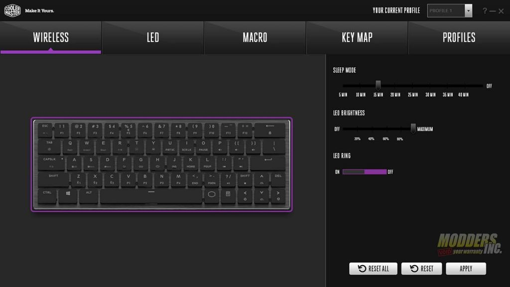 The Cooler Master SK621 Wireless Keyboard Review — Page 4 of