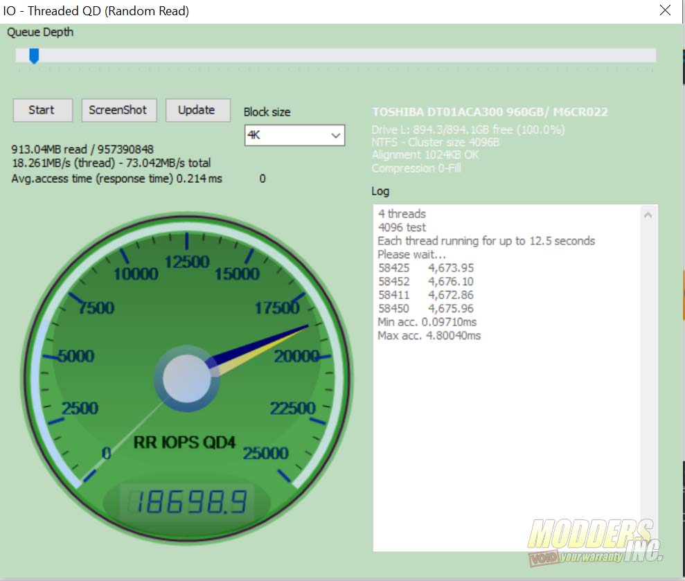 """Crucial BX500 960 GB SSD Review 2.5"""" SSD, 960 gb BX500, BX500 review, Crucial BX500, Modders-Inc SSD Review, SSD Review 9"""